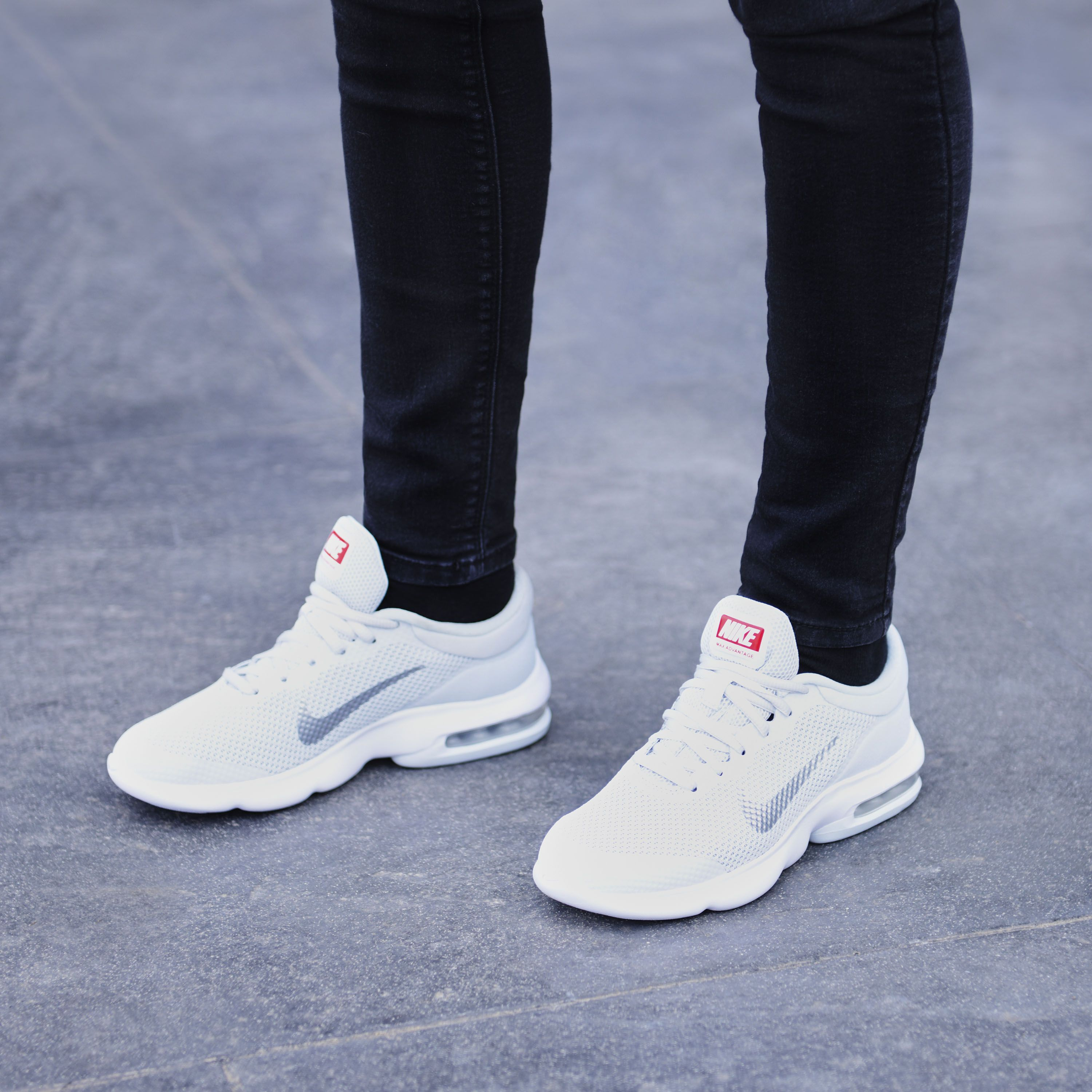 size 40 b7bbe f1c74 Give your run the advantage it needs with the Nike Air Max Advantage  trainers.