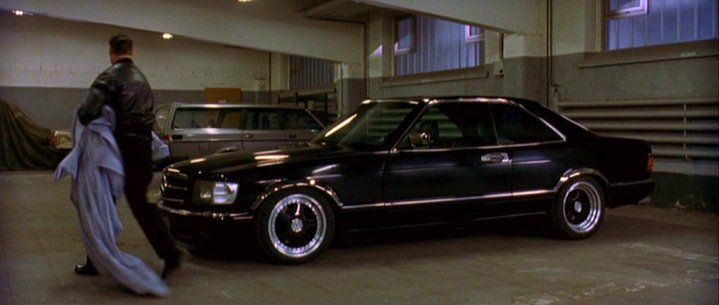 Mercedes benz 560sec c126 from the movie buffalo soldier for Mercedes benz of buffalo
