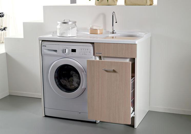 ... www.arredamento.it/il-mobile-lavatoio.asp #mobili #lavatrice #bagno