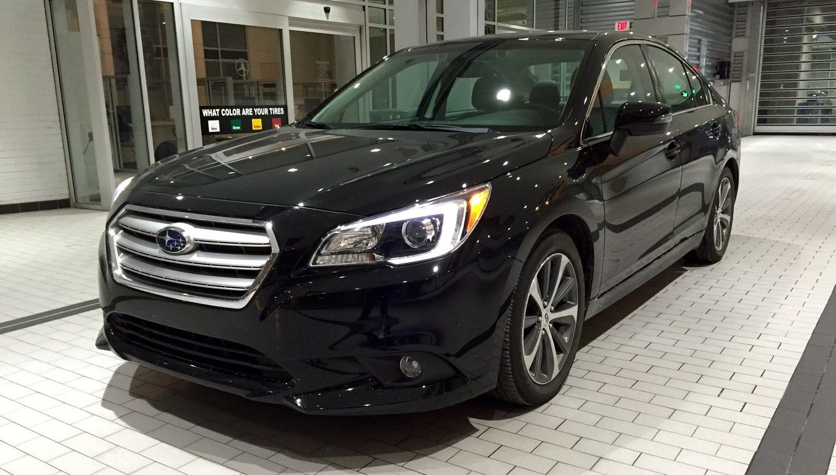 Subaru Legacy 2017 In Black