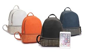Groupon - Dasein MMK Collection Studded Backpack. Groupon deal price   34.99 ea49c7dd66c