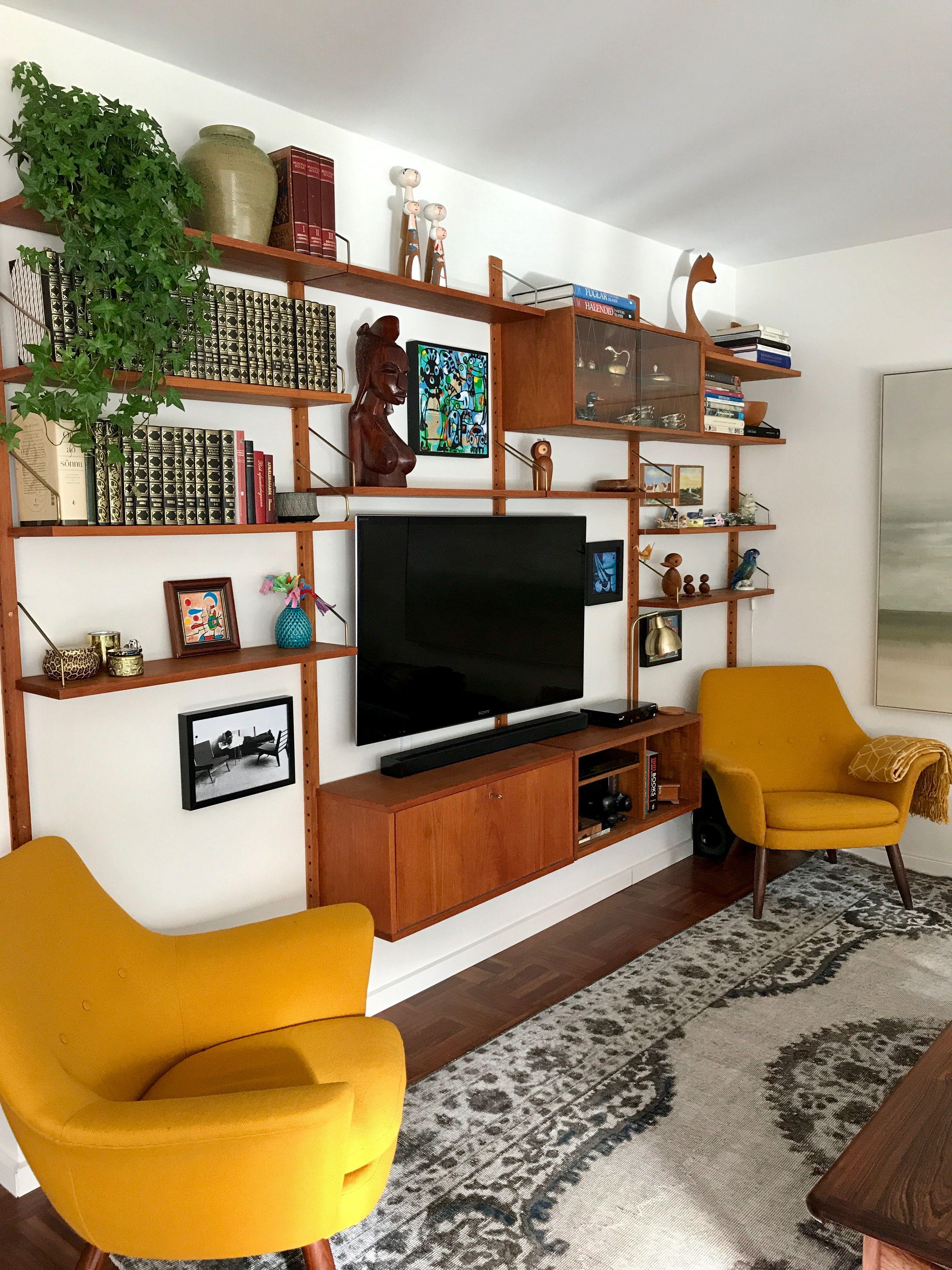 Mid Century Teak Wall Mid Century Modern Living Room Design Mid