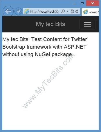 Bootstrap 300 With Asp Web Forms Step By Step Without