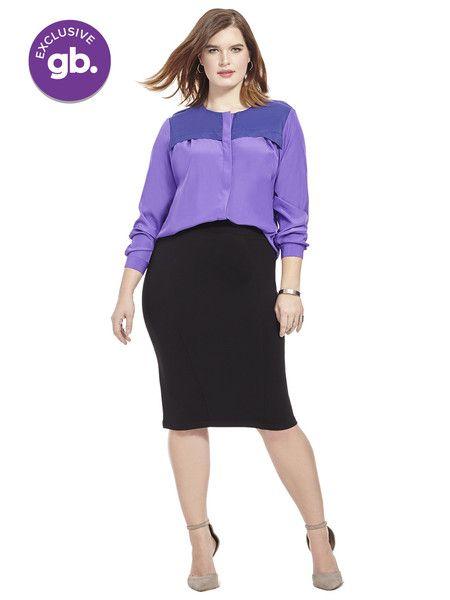 Reese Top In Purple
