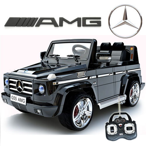 mercedes benz big remote control electric ride on g55 amg g wagon for kids wrubber tires