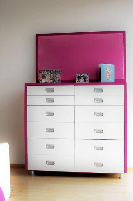 Ambientacion de Cuarto para niñas. Diseño de Muebles infantiles para ...