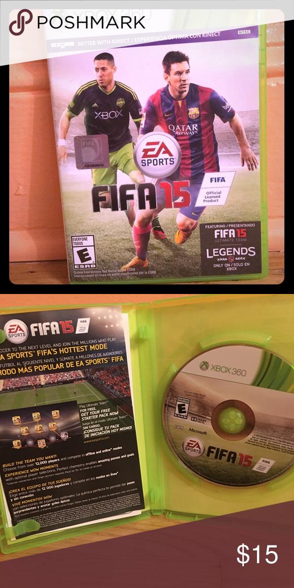 Fifa 15 xbox 360 Fifa 15, Fifa, Xbox