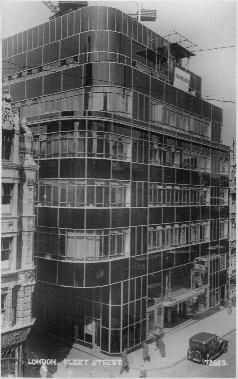Fleet Street, Modernism in London