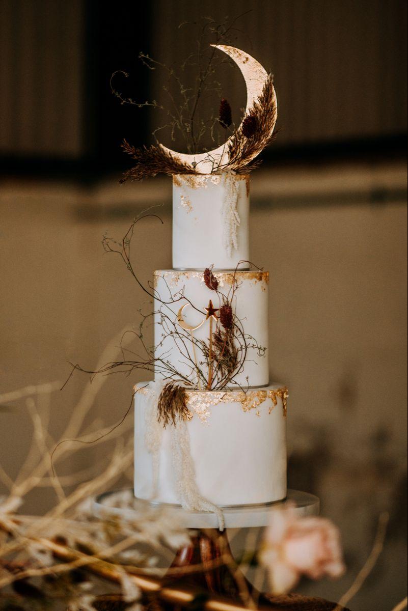 Celestial wedding cake in 2020 celestial wedding