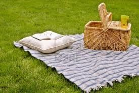 A picnic by the water...can't forget the book I'm reading! Need my alone time