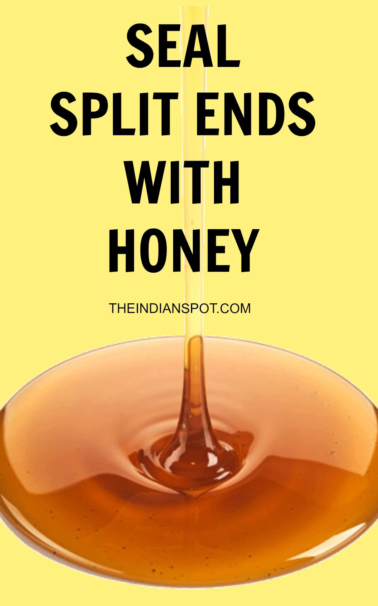 Seal Split Ends 30min Split End Hair Mask Honey Hair Hair