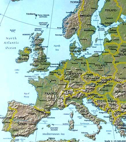Europe map map of europe facts geography history of europe europe map map of europe facts geography history of europe gumiabroncs Image collections