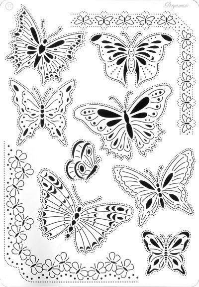 Modele pergamano pergamano - Modele de papillon ...
