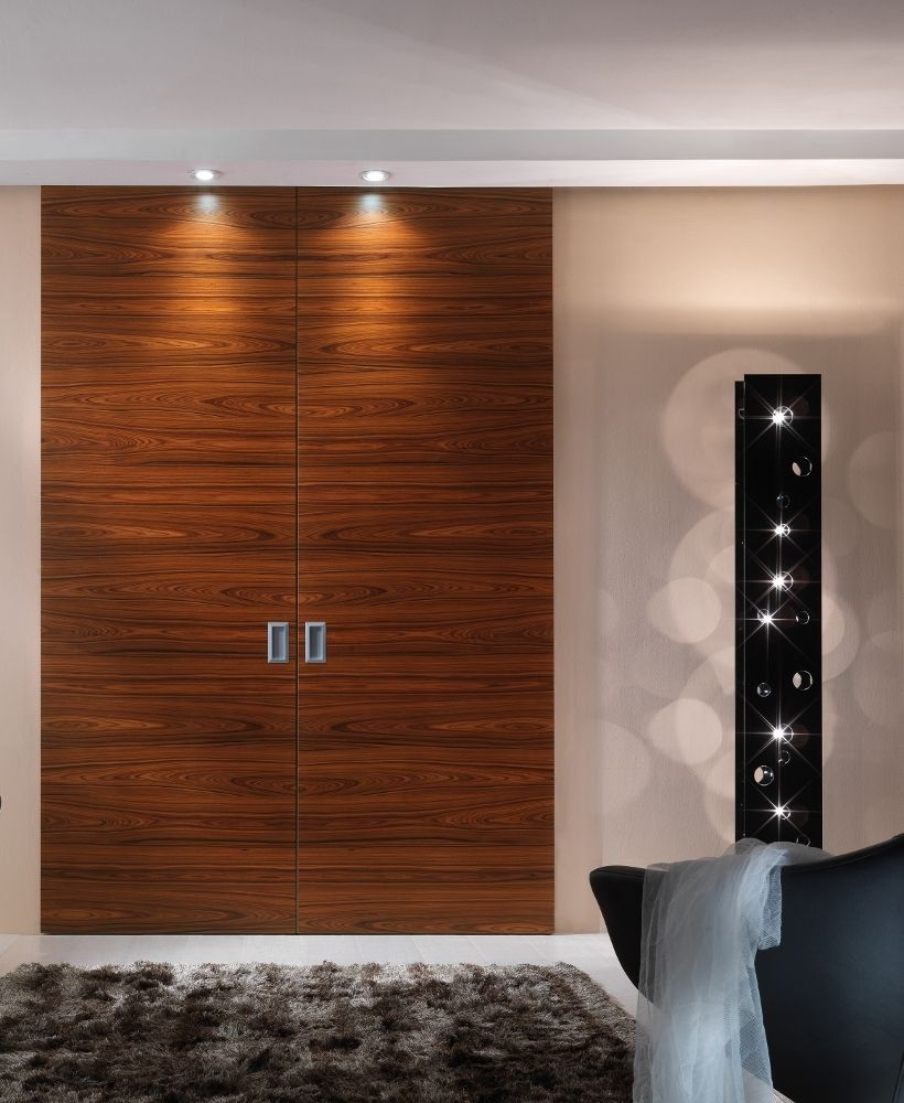 PIANO - Interior door with an honeycomb panel 44 mm thick available in several wood & PIANO - Interior door with an honeycomb panel 44 mm thick ... pezcame.com