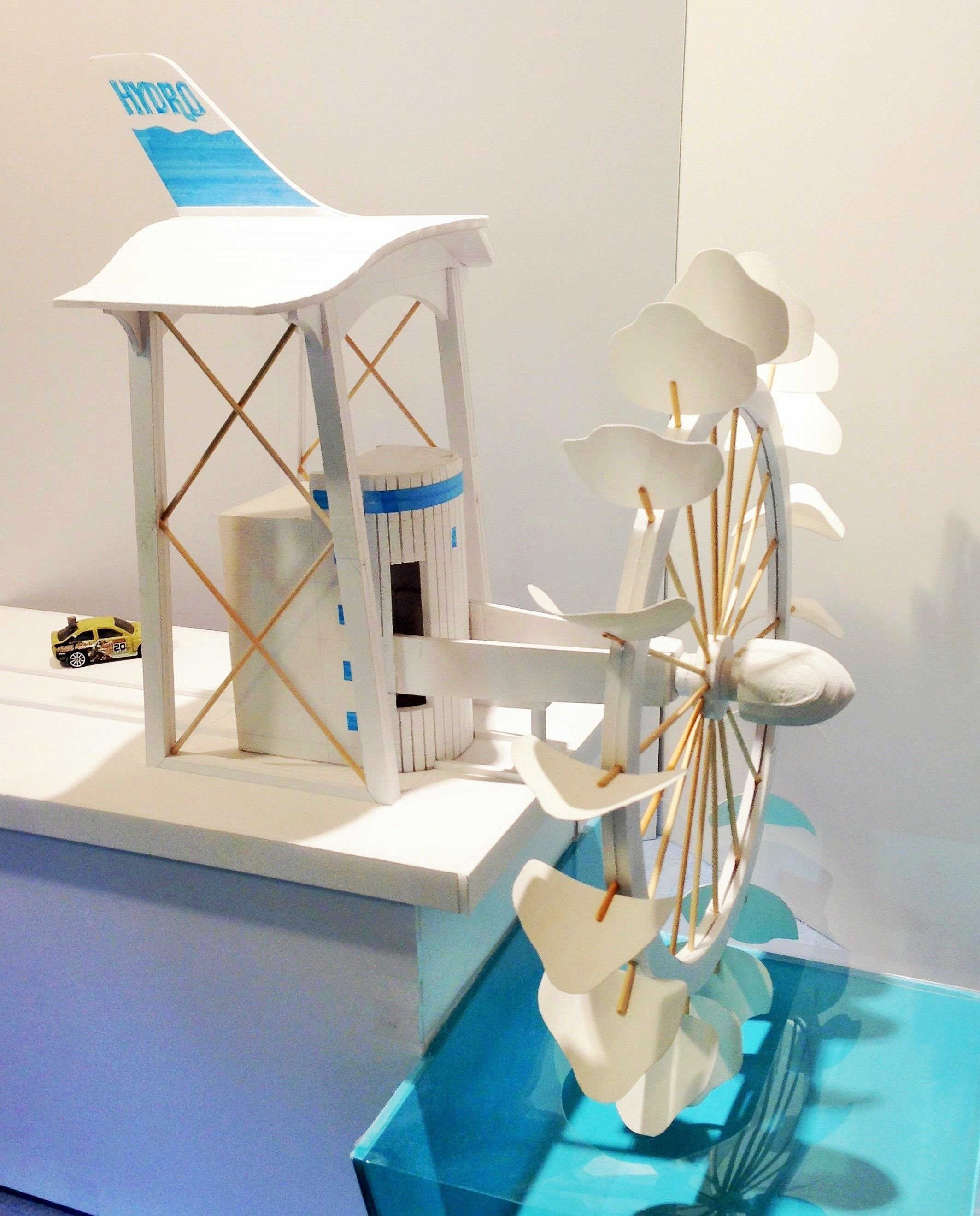 Concept Model of our latest HK Energy Capture Machine