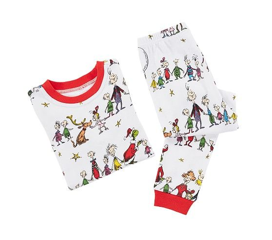 Grinch Cotton Tight Fit Pajamas Pajamas Womens Pyjama