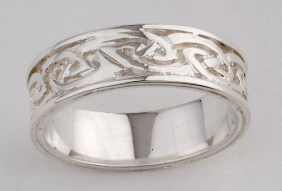I have this ring and I love it!!!Custom made in Dublin.