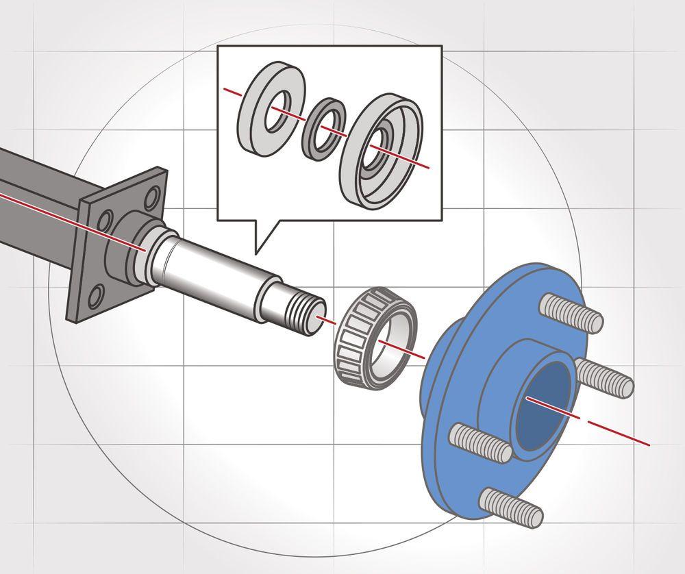 Baring Trailer Tire Diagram Trusted Wiring Wheel Hub Of Boat Bearing U2022