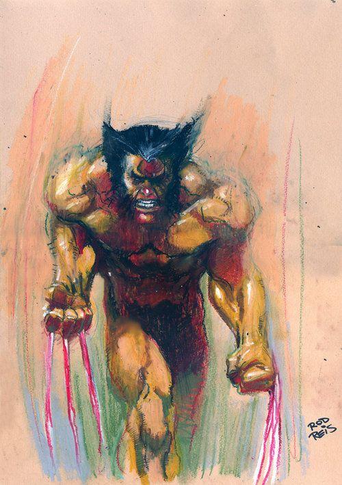 Wolverine by Rod Reis