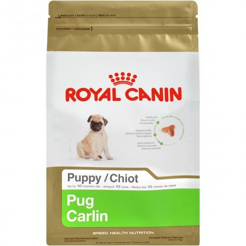 Royal Canin Breed Health Nutrition Pug Puppy Dry Dog Food Dry