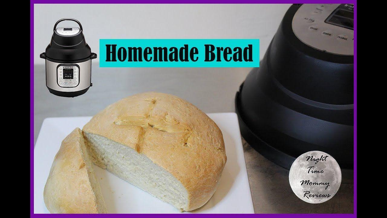 Homemade bread instant pot air fryer lid duo crisp