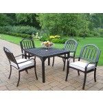 Oakland Living - Rochester 5 Piece Dining Set with Cushions - 6135-3830-9-HB  SPECIAL PRICE: $998.00