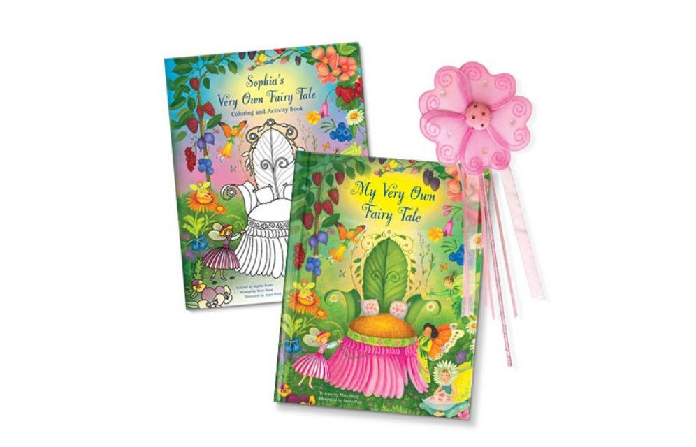 12 Gifts That Will Make Your Flower Girl Feel Like A Princess Personalized Books For Kids Fairy Coloring Book Personalized Storybook