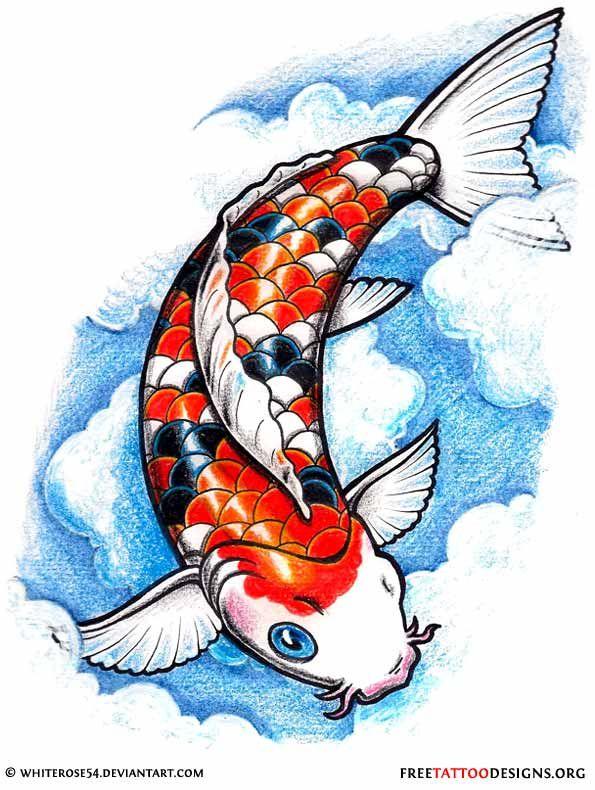 40 Koi Fish Tattoos Japanese And Chinese Designs Koi Fish Tattoo Koi Fish Drawing Koi Fish