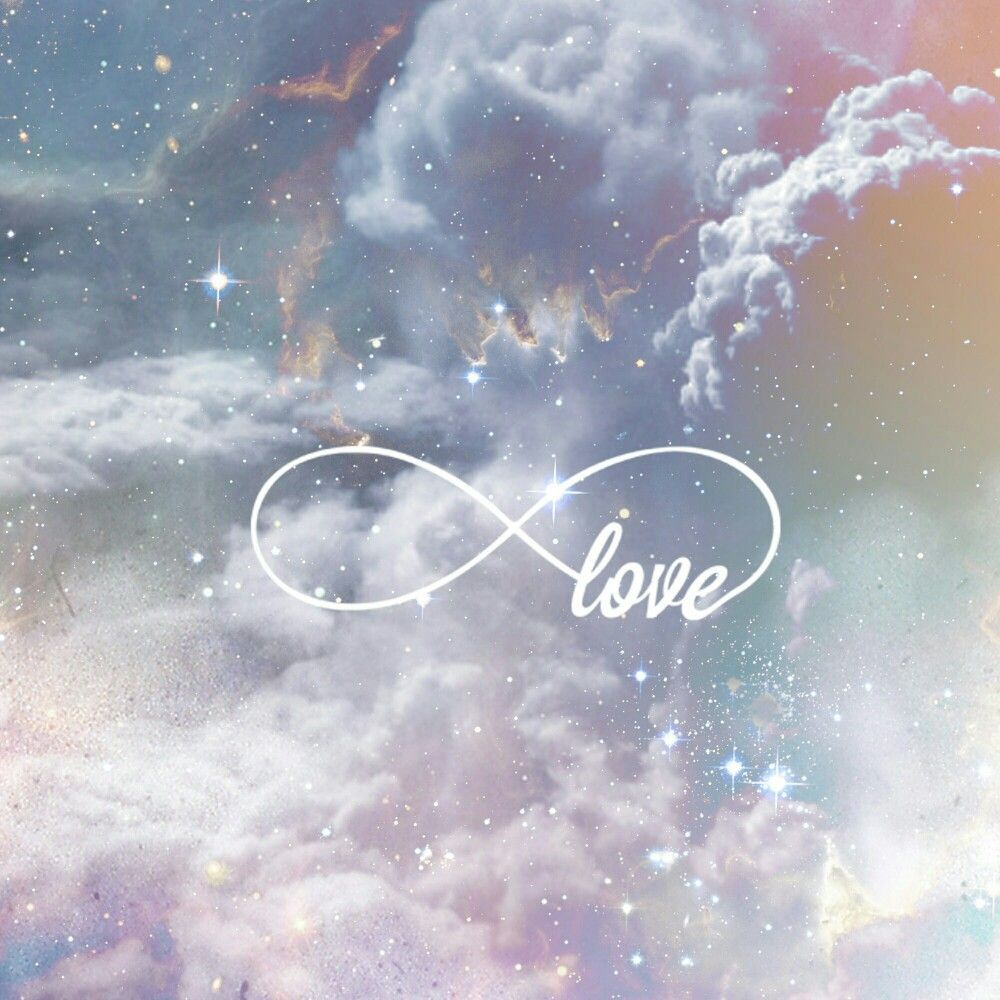 Cloud Inifinite Love Fond Ecran Galaxie Fond D Ecran Telephone Fond Ecran