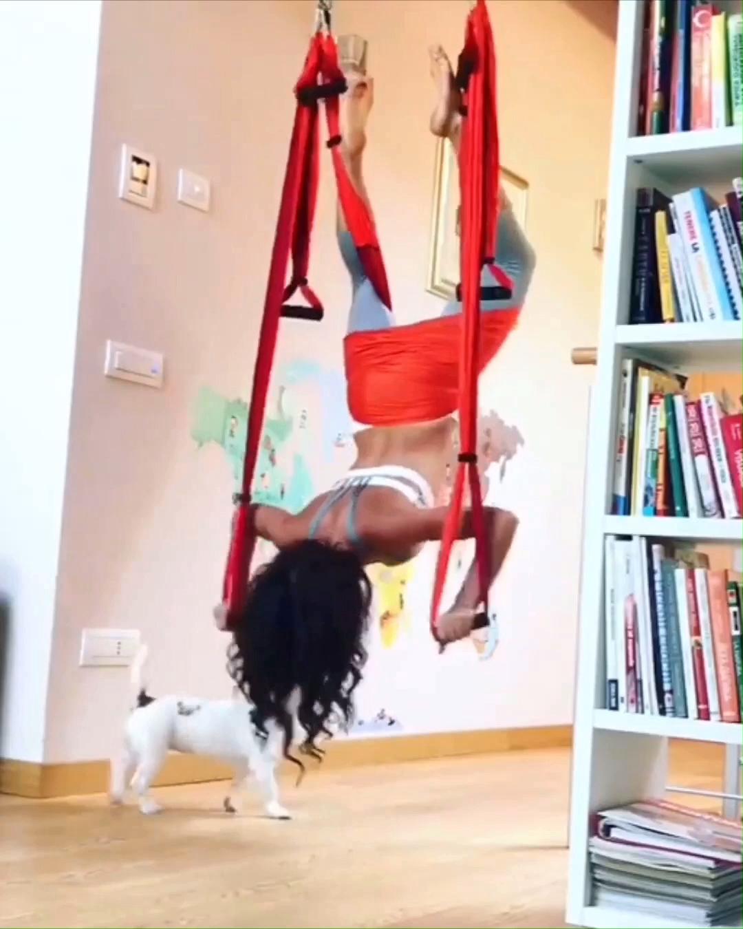 Yoga Hammock At Home