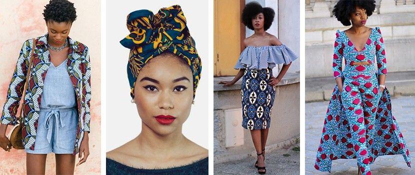 tissu africain femme