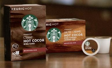 FREE Sample of Starbucks Hot Cocoa KCup! Starbucks, Hot