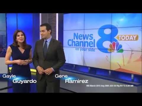 Gayle Guyardo and Gene Ramirez anchor weekday morning on WFLA News