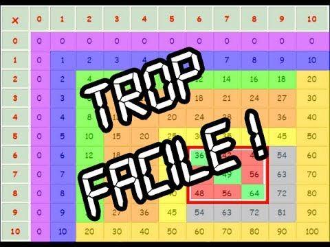 Astuce Math Connaitre Ses Tables De Multiplication Sans Les Apprendre Youtube Apprendre Les Tables De Multiplication Table De Multiplication Multiplication
