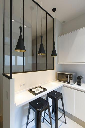 interior window great eat in bar in a small kitchen window gives extra illusion of space but on kitchen interior with window id=89908