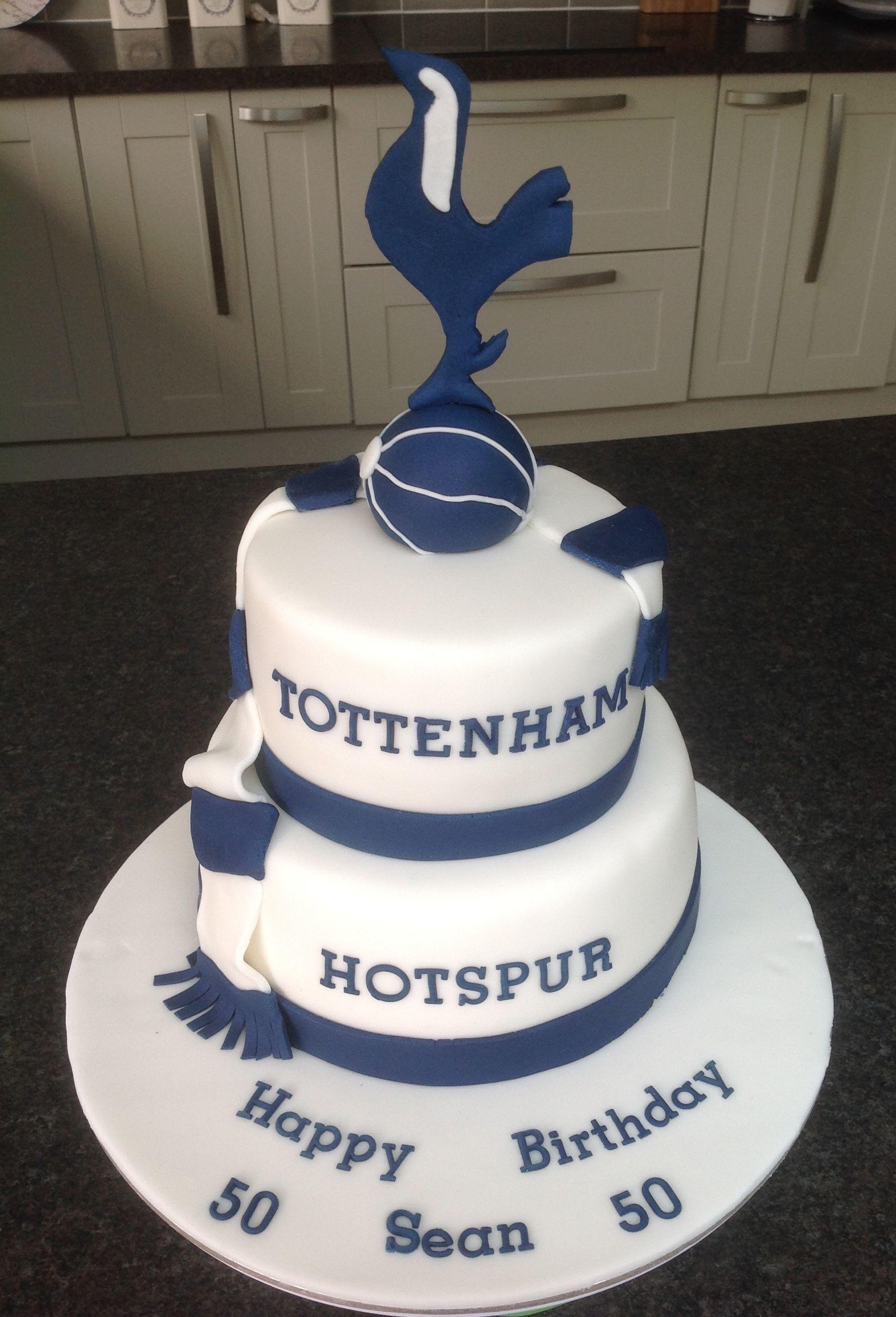 Tottenham Cake Cool Birthday Cakes Birthday Cakes For Men Cake
