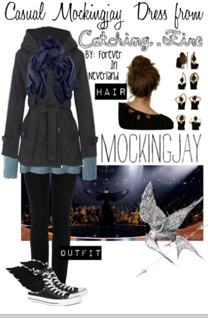 Casual Mockingjay Dress outfit inspired by the movie Catching Fire!!!