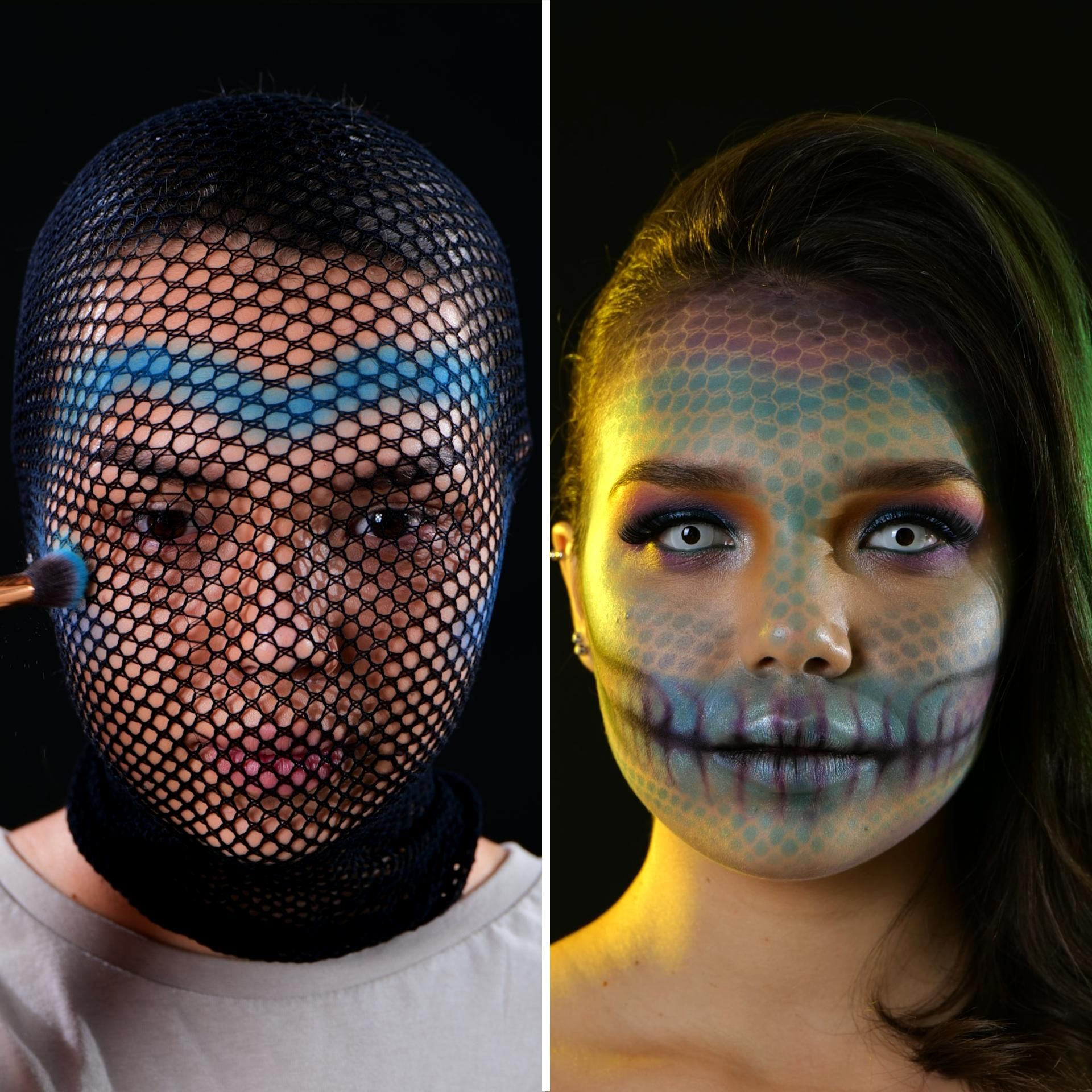 Creepy makeup ideas for special occasions