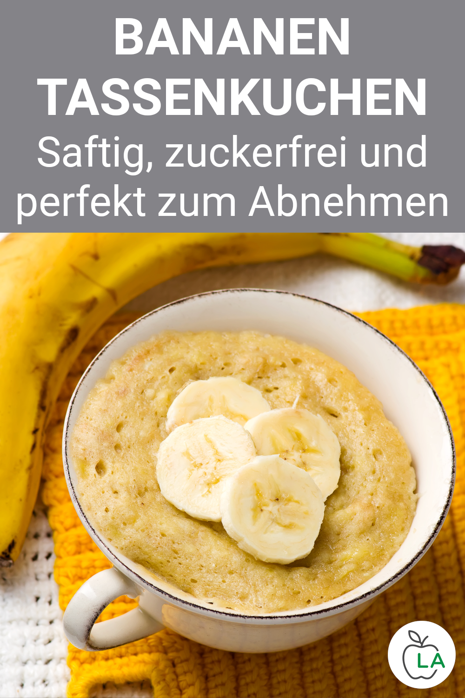 Gesundes Mikrowellen Tassenkuchen Rezept – Kalorienarm und lecker