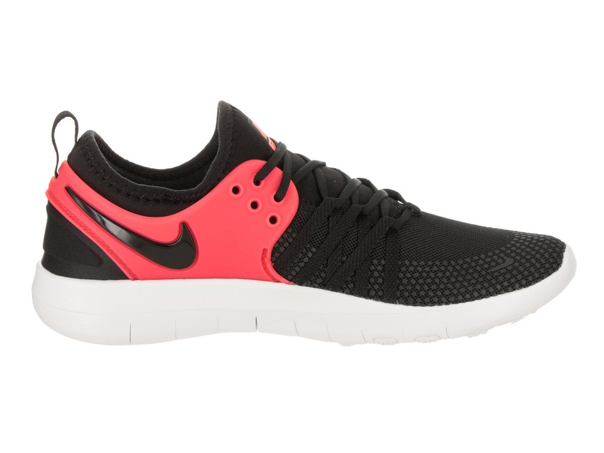 Nike Womens Free TR 7 Black Black Solar Red Training Shoe 9 Women US --  Read more reviews of the product by visiting the link on the image. e7ab7b9bb