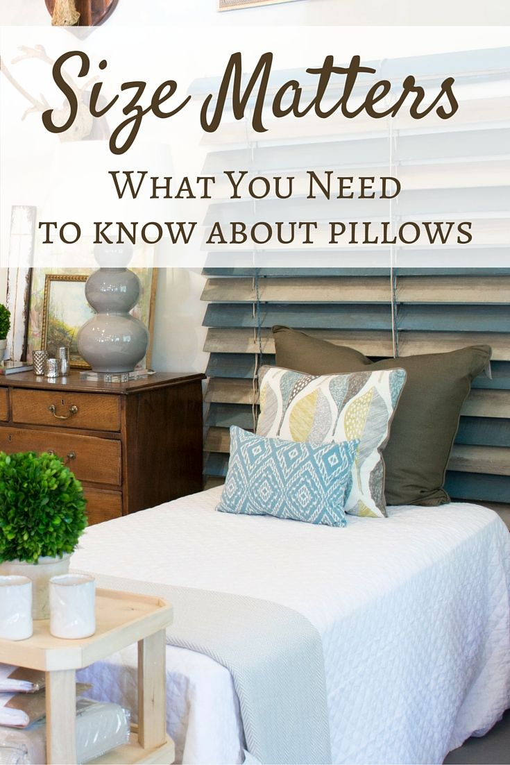 Whatus the standard pillow sizes often depend on where and how they