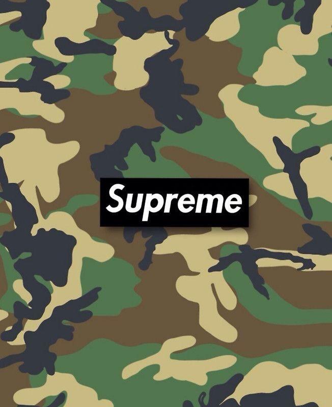Supreme Camouflage By Flxherrera4 Supreme Wallpaper