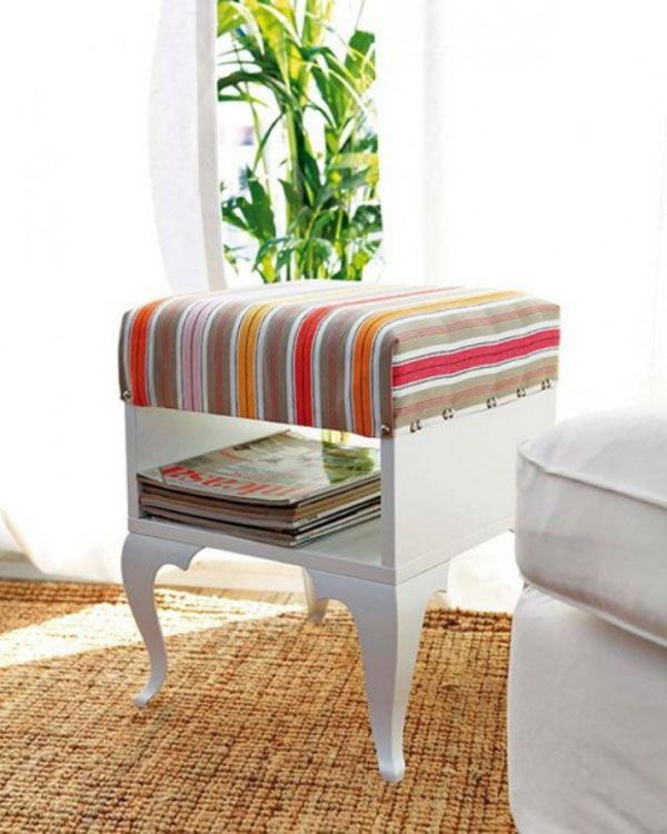 Mesa Auxiliar Tuneada De Ikea Crafty Room Pinterest