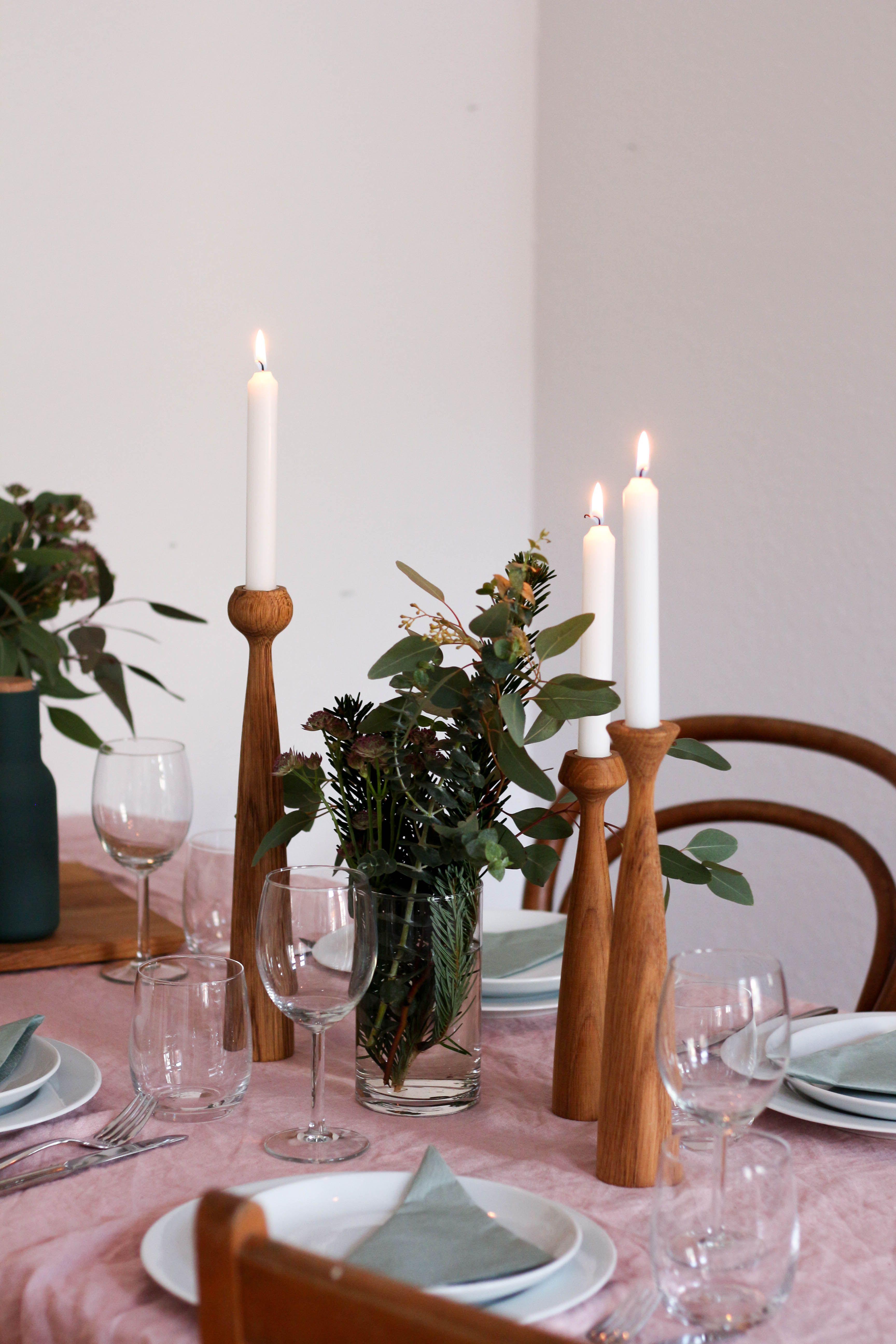 Kerzenständer BLOSSOM ROSE | Skandinavische Weihnachten | Pinterest ...
