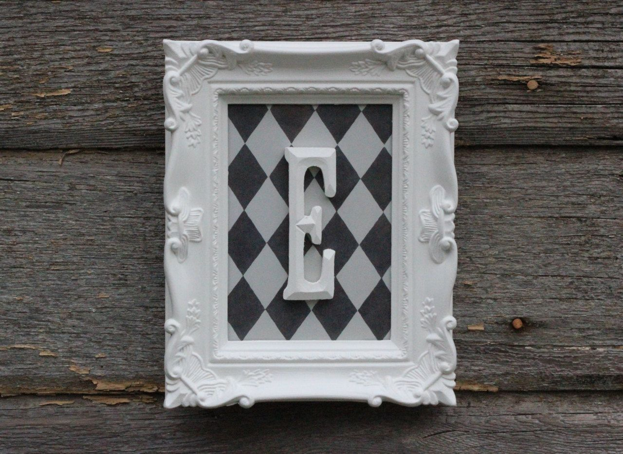 Nursery Decor / Monogram Wall Letter / by