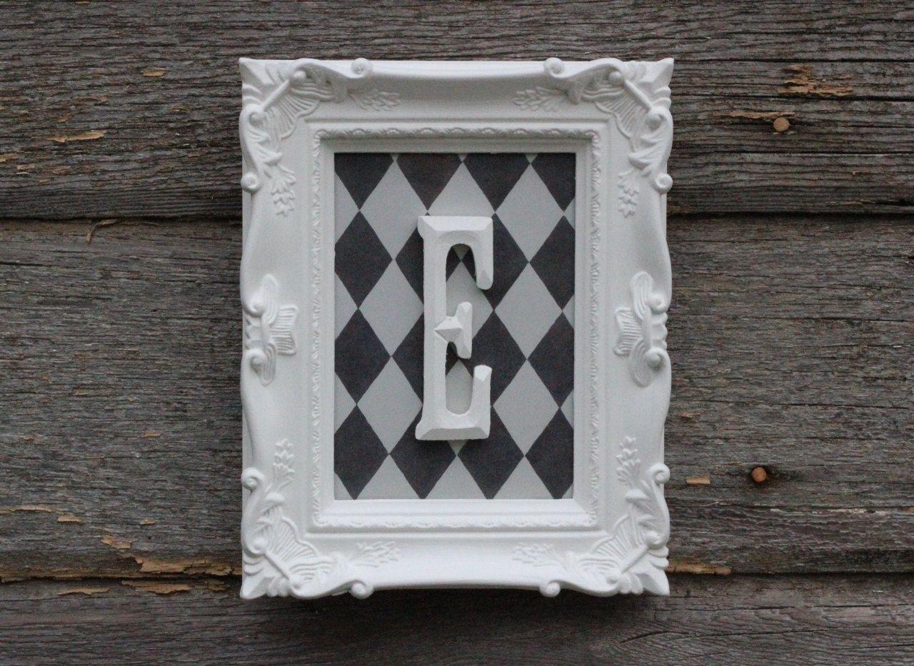 Nursery Decor / Monogram Wall Letter / by