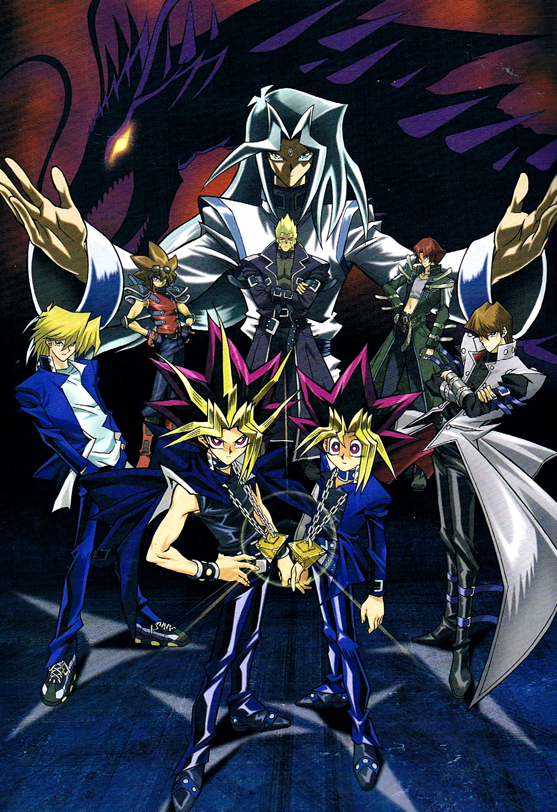 YuGiOh! Duel Monsters Doma Arc Yugioh, Geek poster