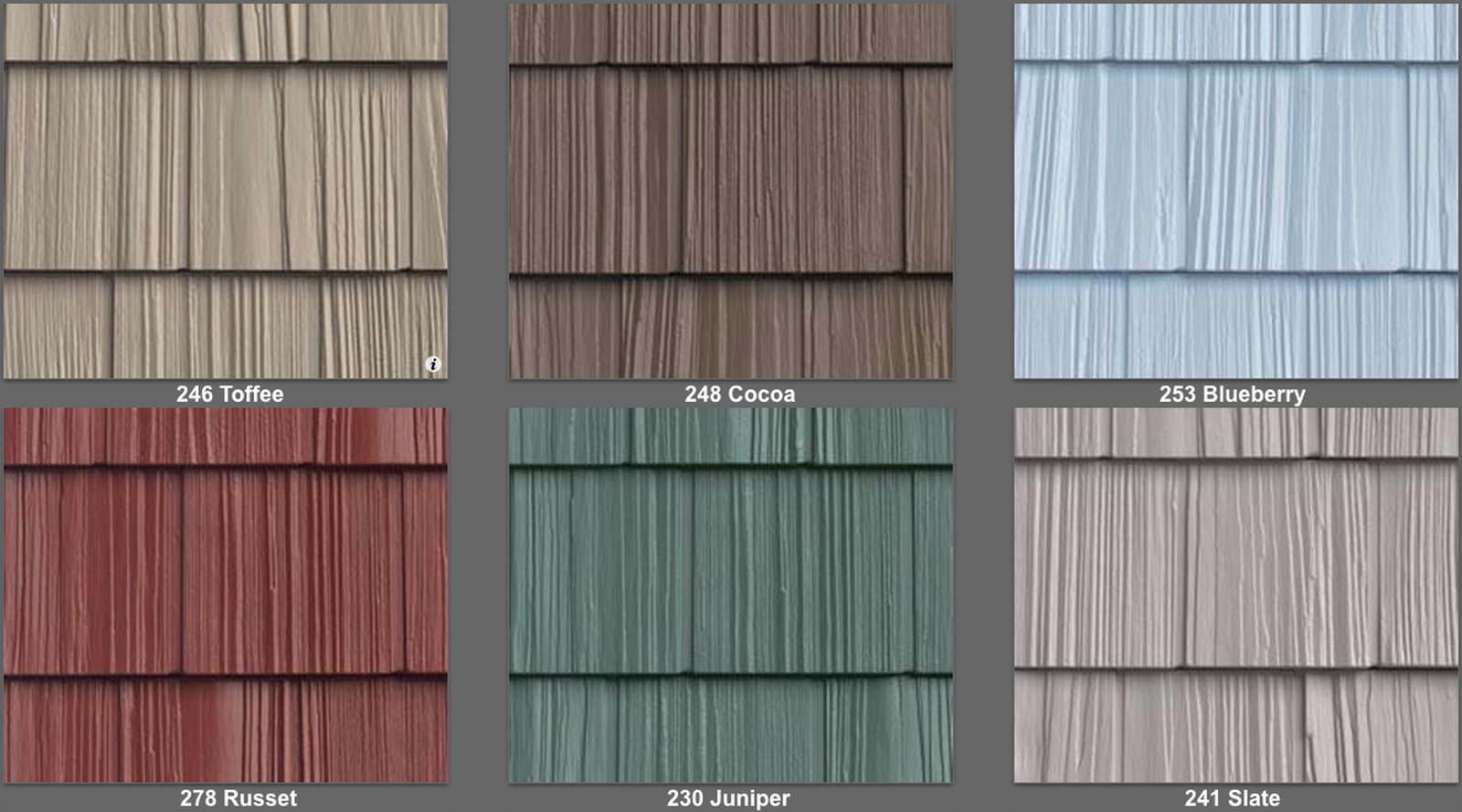 Split shake vinyl siding look and feel of real cedar shake for New siding colors