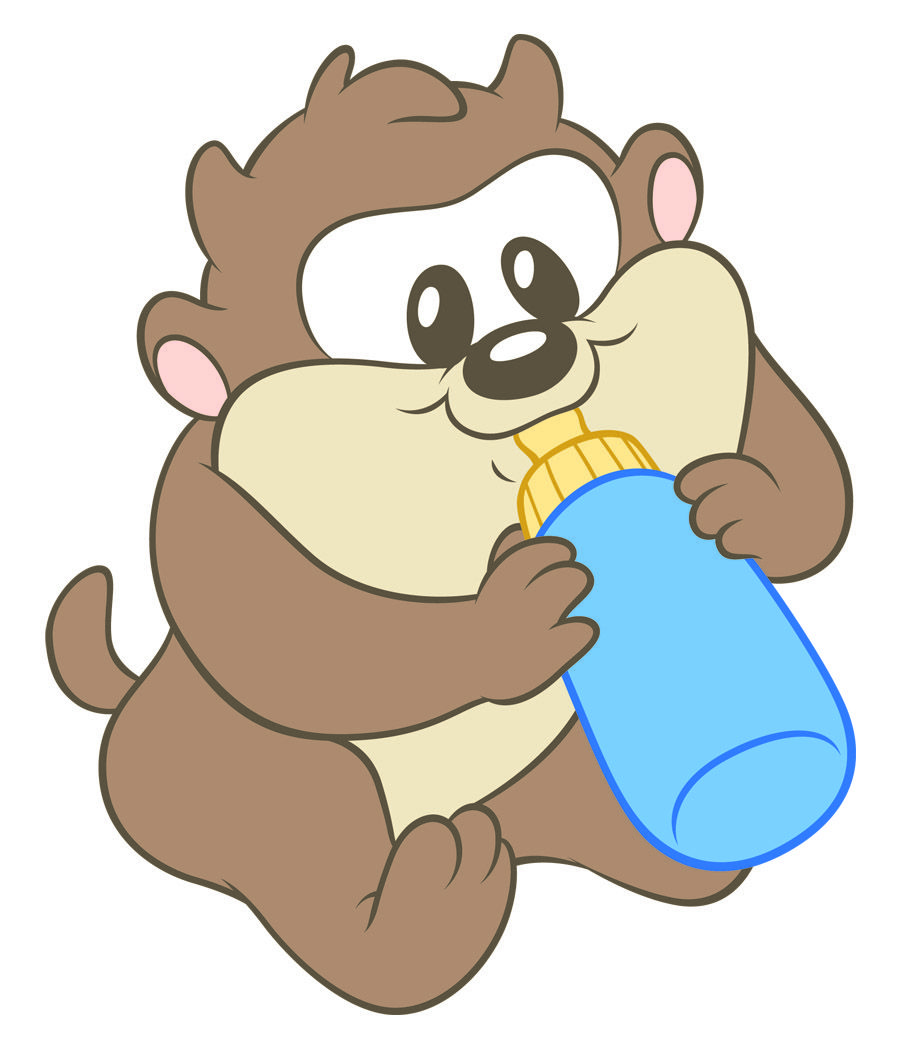 taz-with-bottle1.jpg (900×1050) | Just me♥ | Pinterest | Looney tunes