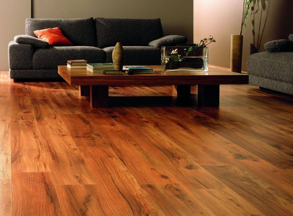 Hardwood Floor In A Contemporary Living Room Living Room Wood Floor Floor Design Living Room Flooring